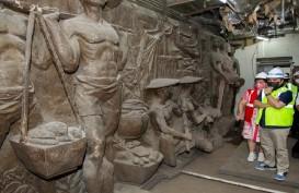 Erick Thohir Sedih, Relief Bersejarah Era Soekarno Tak Terawat di Gedung Sarinah