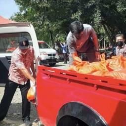 BNI Berikan Bantuan Kepada Korban Banjir Di Sejumlah Daerah