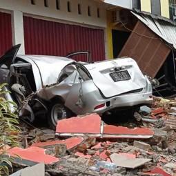 Sejumlah Kerusakan Yang Diakibatkan Gempa Bumi di Sulawesi Barat