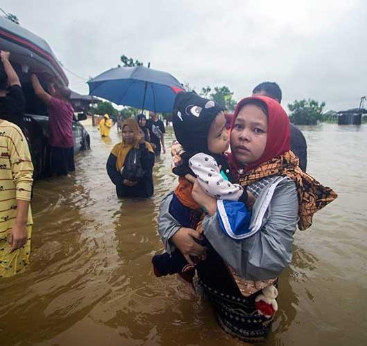 Provinsi Kalimantan Selatan Dalam Status Tanggap Darurat Banjir