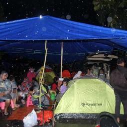 Korban Gempa di Mamuju Sulbar Mengungsi di Dataran Tinggi