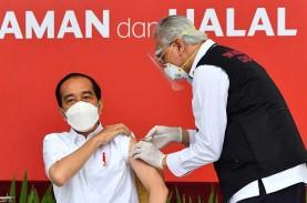 Jokowi Minta Vaksinasi Covid-19 Rampung Sebelum Akhir…