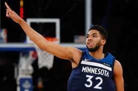 Karl-Anthony Towns Positif Covid-19, Laga Timberwolves…