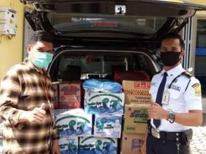 BTN Salurkan Bantuan Kepada Korban Gempa di Mamuju Sulawesi Barat