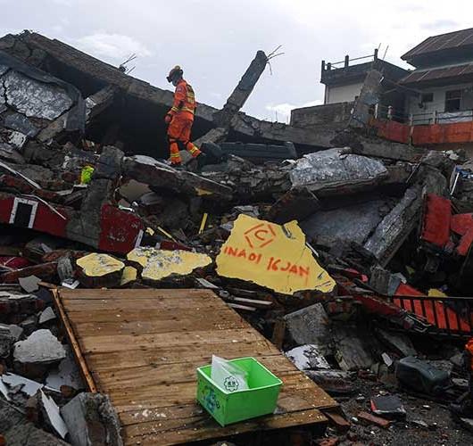 Kondisi Terkini Dampak Gempa Bumi di Mamuju Sulawesi Barat