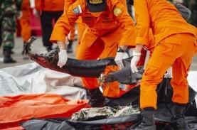 Per Hari Ini, 298 Bagian Tubuh Korban Sriwijaya Air…