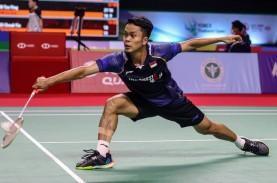 Hasil Semifinal Yonex Thailand Open, Ginting Gagal…