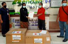 PMI Jateng Distribusikan Ventilator ke 5 Rumah Sakit Rujukan
