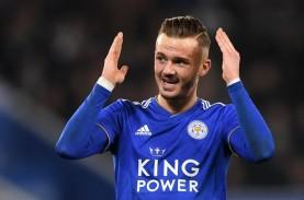 Hasil Lengkap Liga Inggris, Leicester City Gusur Liverpool
