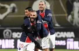 Hasil Lengkap Liga Prancis, PSG Geser Lyon dari Posisi Teratas
