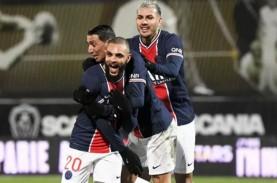 Hasil Lengkap Liga Prancis, PSG Geser Lyon dari Posisi…