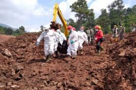Korban Meninggal Longsor Sumedang Jadi 28 Orang, 12…