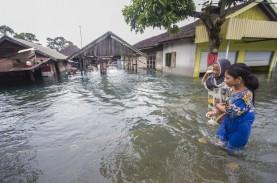 Dua Kecamatan di Tanah Laut Bak Hilang Disapu Banjir