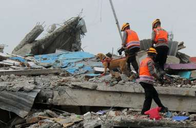 Foto-foto Perkembangan Penanganan Gempa di Mamuju, Minggu 17 Januari