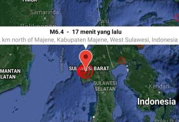 Maipark: Kerugian Gempa Sulawesi Barat Bisa Mencapai Rp90 Miliar