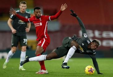 Hasil Liga Inggris Liverpool vs MU, Skor 0–0 Hingga Akhir Babak I