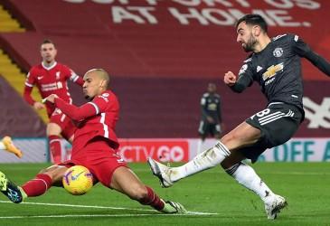 Liverpool vs MU 0–0, Setan Merah Tetap Pimpin Klasemen Liga Inggris