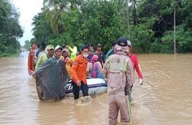 10 Kabupaten/Kota Terdampak Banjir di Kalsel, 15 Orang Meninggal dan 24.379 Rumah Terendam
