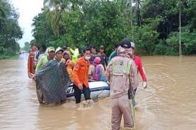 10 Kabupaten/Kota Terdampak Banjir di Kalsel, 15 Orang…