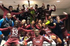 Hasil Liga Prancis : Disikat Metz, Lyon Serahkan Posisi…