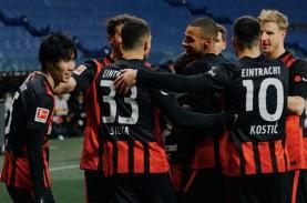 Pulang dari Madrid, Jovic Cetak 2 Gol untuk Frankfurt…