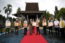 BNPB Serahkan Dana Siap Pakai Rp3,5 Miliar Tangani…