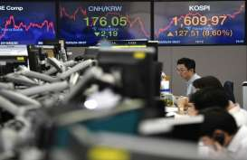Pasar Nantikan Data PDB China, Bursa Asia Terkoreksi