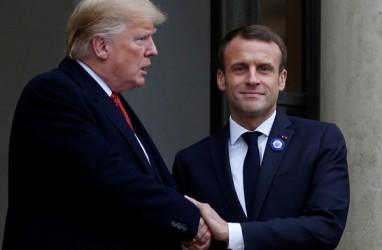 Prancis Ingin Perselisihan Dagang AS vs Uni Eropa Ditangguhkan