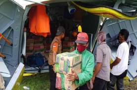 Gempa Sulawesi Barat, BNPB Gunakan Helikopter Distribusi…