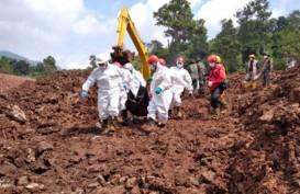 Hari ke-10 Operasi Pencarian, 36 Korban Longsor Sudah Ditemukan