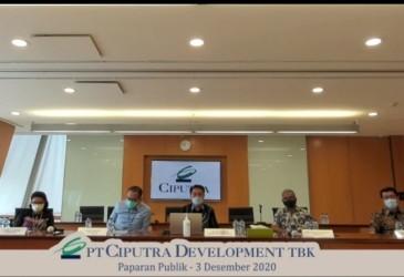 Di Atas Target, Ciputra Development (CTRA) Cetak Marketing Sales Rp5,5 Triliun