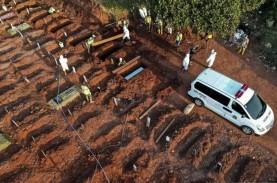 Update Covid-19: Jumlah Kematian Naik Jadi 295, Jateng…