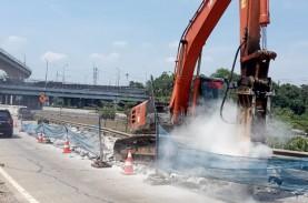 Pandemi Menyerang, Konstruksi Jalan Tol Tetap Bergerak