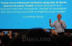 Bagi Lo Kheng Hong, Saham Emiten Kakap Bagaikan Suami-Istri: Jangan Dilepas!