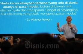 Bagi Lo Kheng Hong, Saham Emiten Kakap Bagaikan Suami-Istri:…