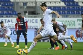 Ibrahimovic Kembali & Borong Gol untuk Milan Taklukkan…