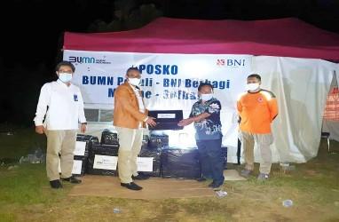 BNI Makassar Salurkan Bantuan untuk Korban Gempa Sulbar