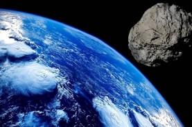 Asteroid Seukuran Paus Biru Dekati Bumi