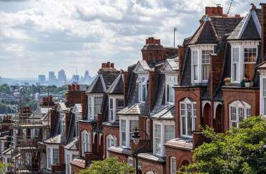 Penjualan Dipacu, Harga Rumah di Inggris pada Januari Turun