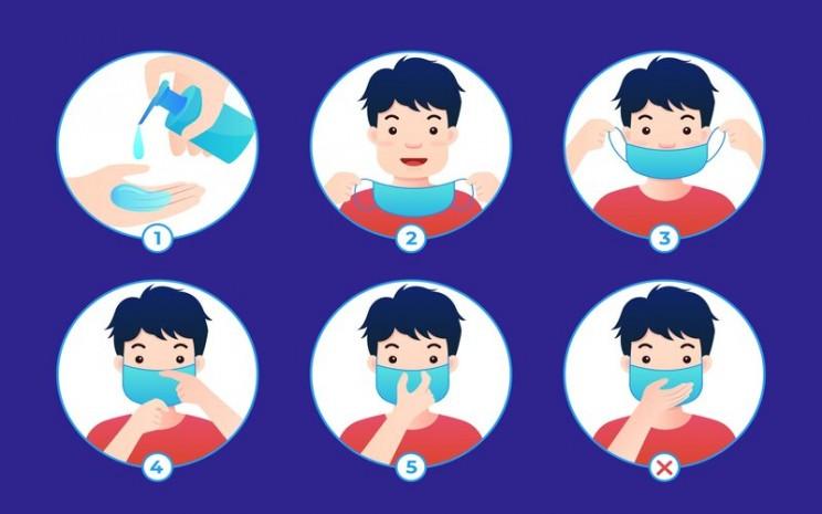 Mencuci tangan pakai sabun dan memakai masker wajib dilaksanakan usai mendapatkan vaksin virus corona (Covid-19). - Freepik