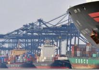 Kapal memuat peti kemas di Pelabuhan Tanjung Priok./Antara - Fanny Octavianus