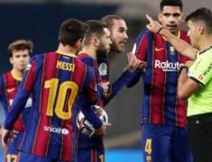Lionel Messi Diskors 2 Pertandingan, Barcelona Banding