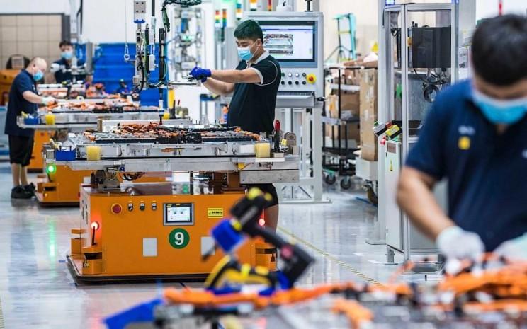 Pusat Baterai Tegangan Tinggi baru di China secara resmi dibuka Senin (14/9 - 2020). BMW
