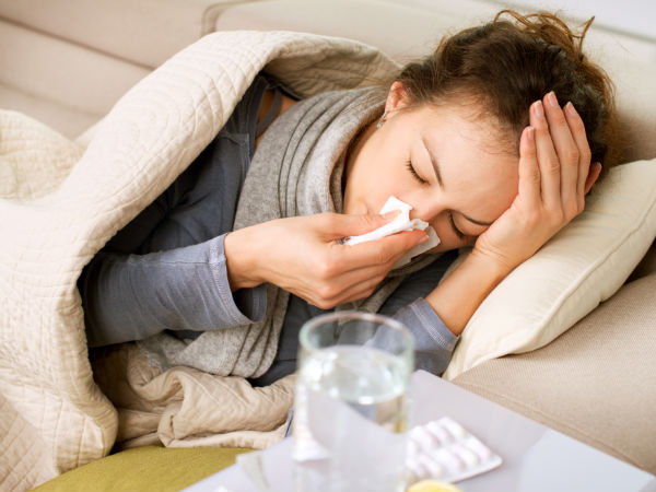 Penderita flu - Istimewa
