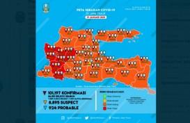 Zona Merah Covid-19 Jatim Kini Ngawi, Magetan, Madiun, Nganjuk, Ponorogo dan Trenggalek