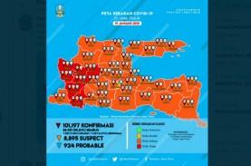 Zona Merah Covid-19 Jatim Kini Ngawi, Magetan, Madiun,…