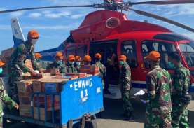 Helikopter IATA Bantu BNPB Salurkan Bantuan Logistik…