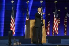 Tangis Joe Biden Pecah saat Pidato Sebelum Berangkat…
