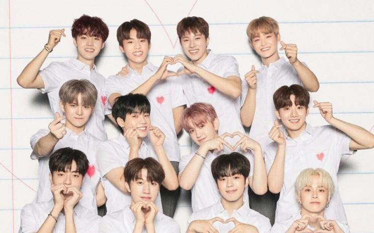 Boyband KPop asal Korea Selatan, Treasure telah menjual 1 juta album dalam 5 bulan sejak debut. - ilustrasi
