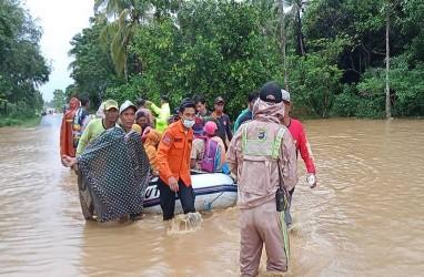 11 Kabupaten dan Kota Terdampak Banjir di Kalimantan Selatan